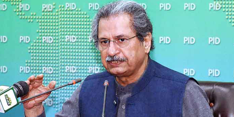 Educational institutes to open from January 18, Shafqat Mehmood