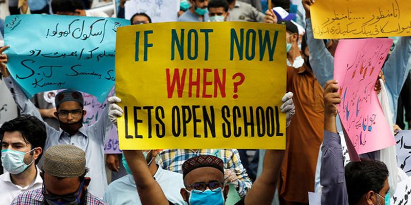 گورنمنٹ سیکنڈری ٹیچرز ایسوسی ایشن کا سندھ حکومت کے خلاف بھوک ہڑتال کا اعلان