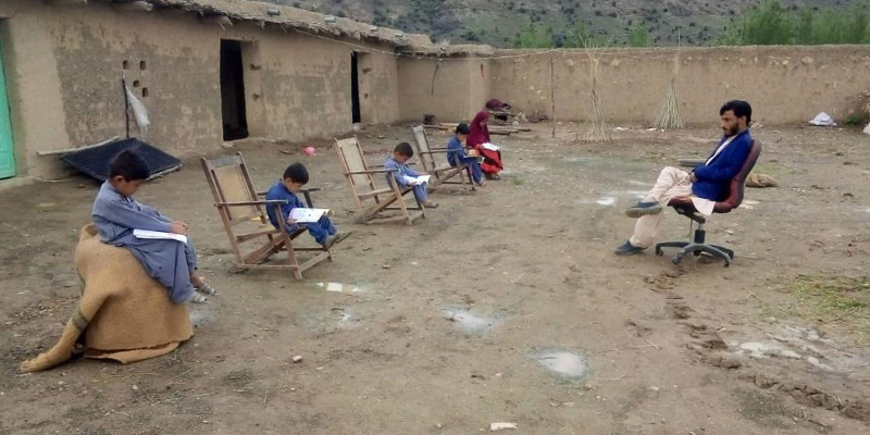 Baluchistan struggles to cope up with the academic loss