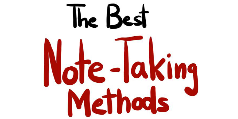 The art of taking effective notes