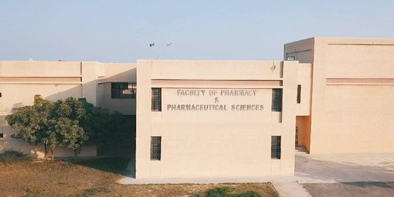 کراچی  یونیورسٹی کا شعبہ فارمیسی کیو ایس رینکنگ میں 200 میں سے 151 ویں نمبر پر