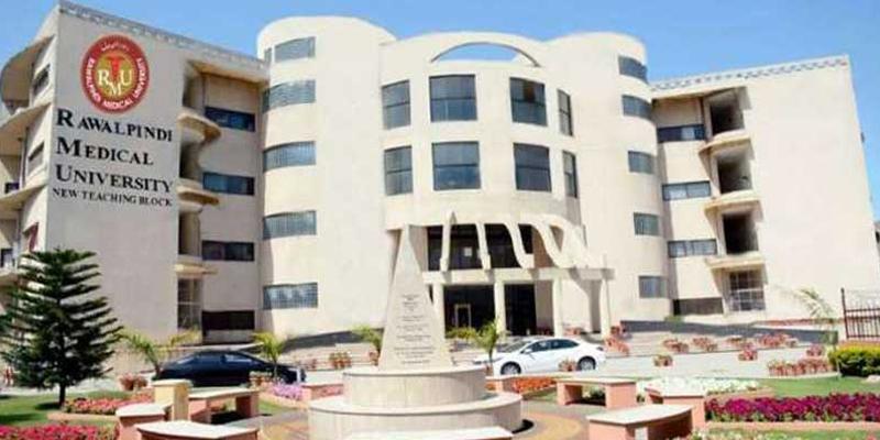 Rawalpindi Medical University ranks first in monodisciplinary universities in Pakistan