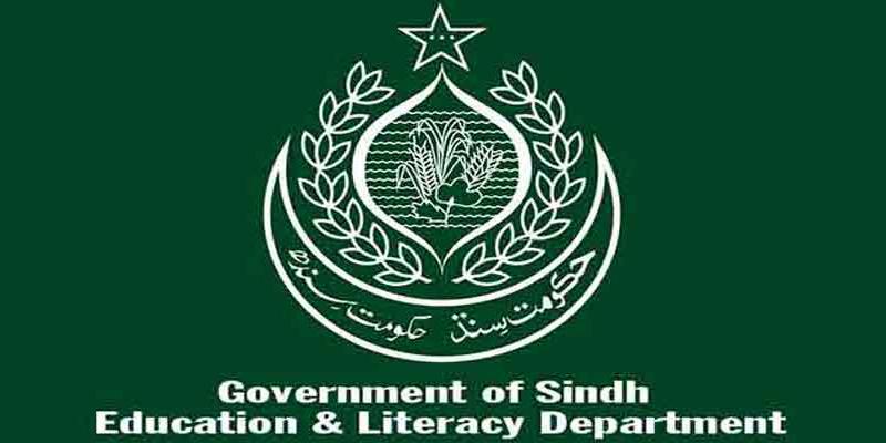 سندھ ایجوکیشن ڈیپارٹمنٹ نے نئے تعلیمی سال کہ کیلنڈر کا نوٹس جاری کردیا