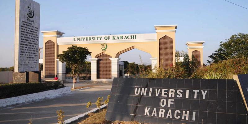 کراچی یونیورسٹی پوسٹ گریجویٹ طلباء کے لیے آن لائن کلاسز منعقد کرے گی