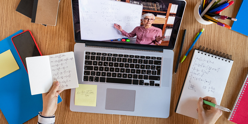 Strategies for being productive when teaching online