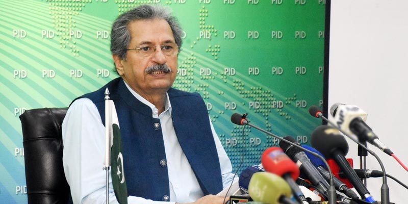 Students may approach the concerned boards for exam related queries, says Shafqat Mahmood