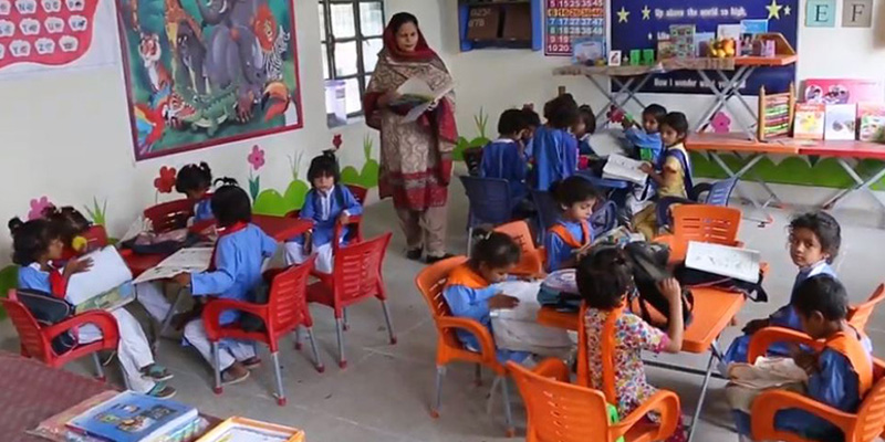 'Teachers attend the school or face the charges,' Punjab district officers