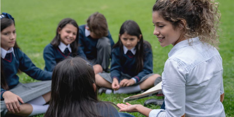 Outdoor Teaching Can Bring Curiosity to Education in Tough Times