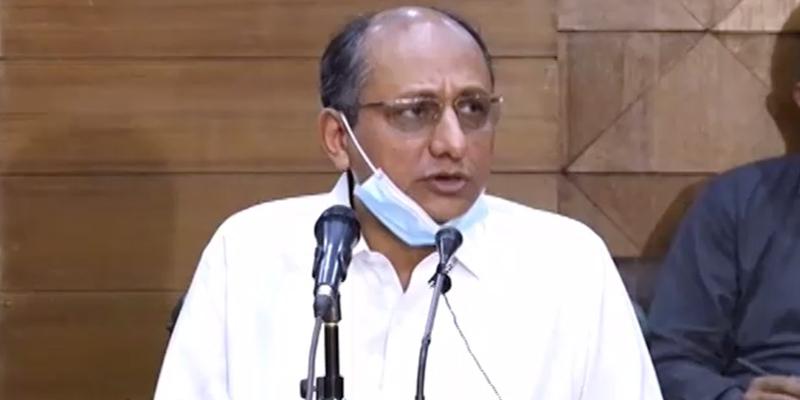 وزیرتعلیم سندھ سعید غنی کا صوبے میں ایک اور لاک ڈاؤن کے بارے میں انتباہ