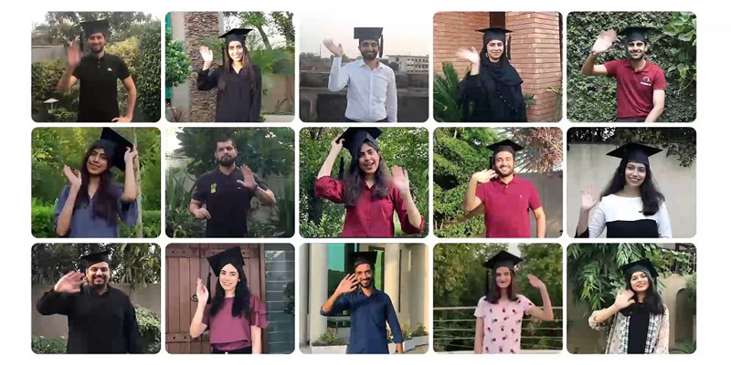 LUMS holds first virtual convocation