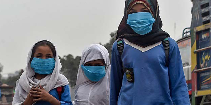 Facemasks deemed mandatory in KP schools