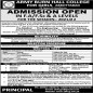 Army Burn Hall College For Girls Abbottabad announced admission 2021 for INTERMEDIATE / A-LEVEL Programs